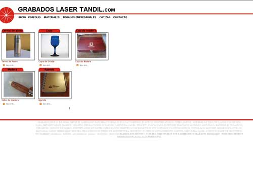 GRABADOS LASER TANDIL